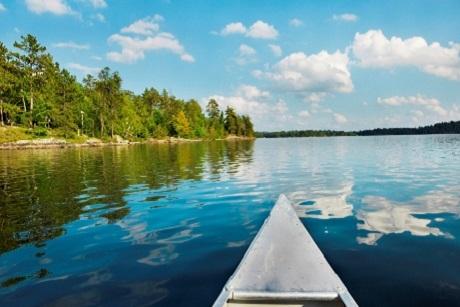 Lake and canoe cropped 40 percent2