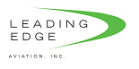 Leading Edge Aviation logo vert